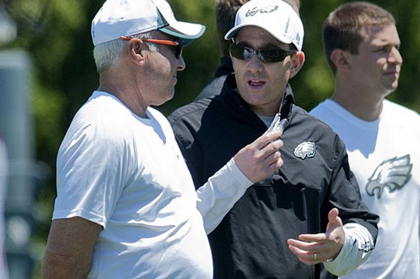 Inside the Eagles: It's all on Chip now, but Lurie made right choice in demoting Roseman