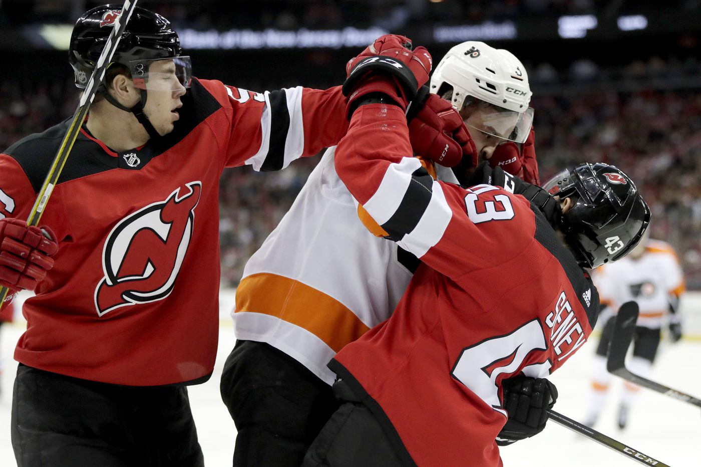 Flyers lose to Devils in what appears to be a race to the bottom of the NHL standings