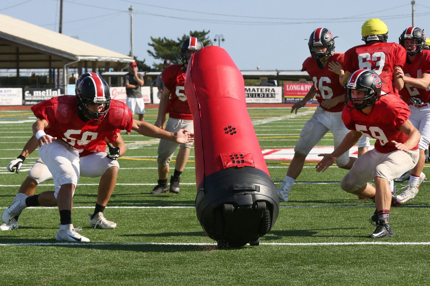 Inside the game: Motorized tackling 'Dummy' a big hit for Ocean City football