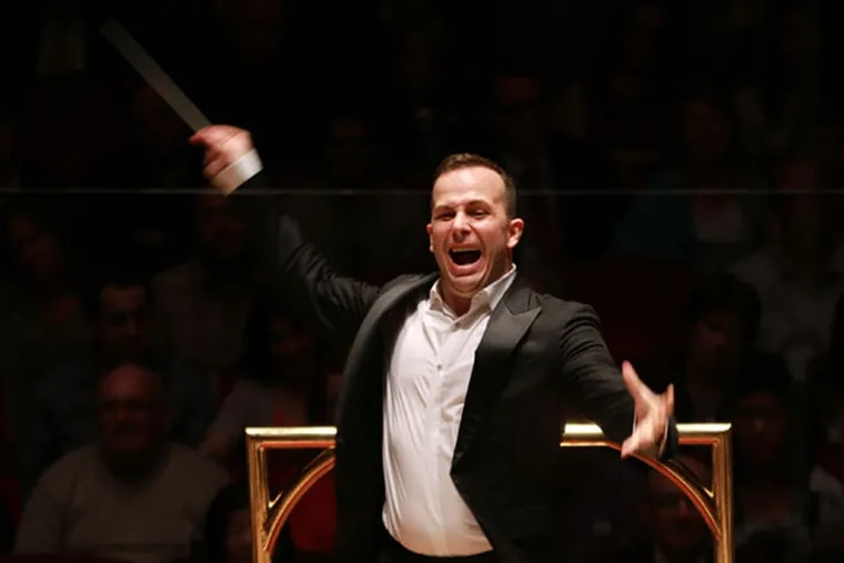 Philadelphia Orchestra director Yannick Nézet-Séguin.