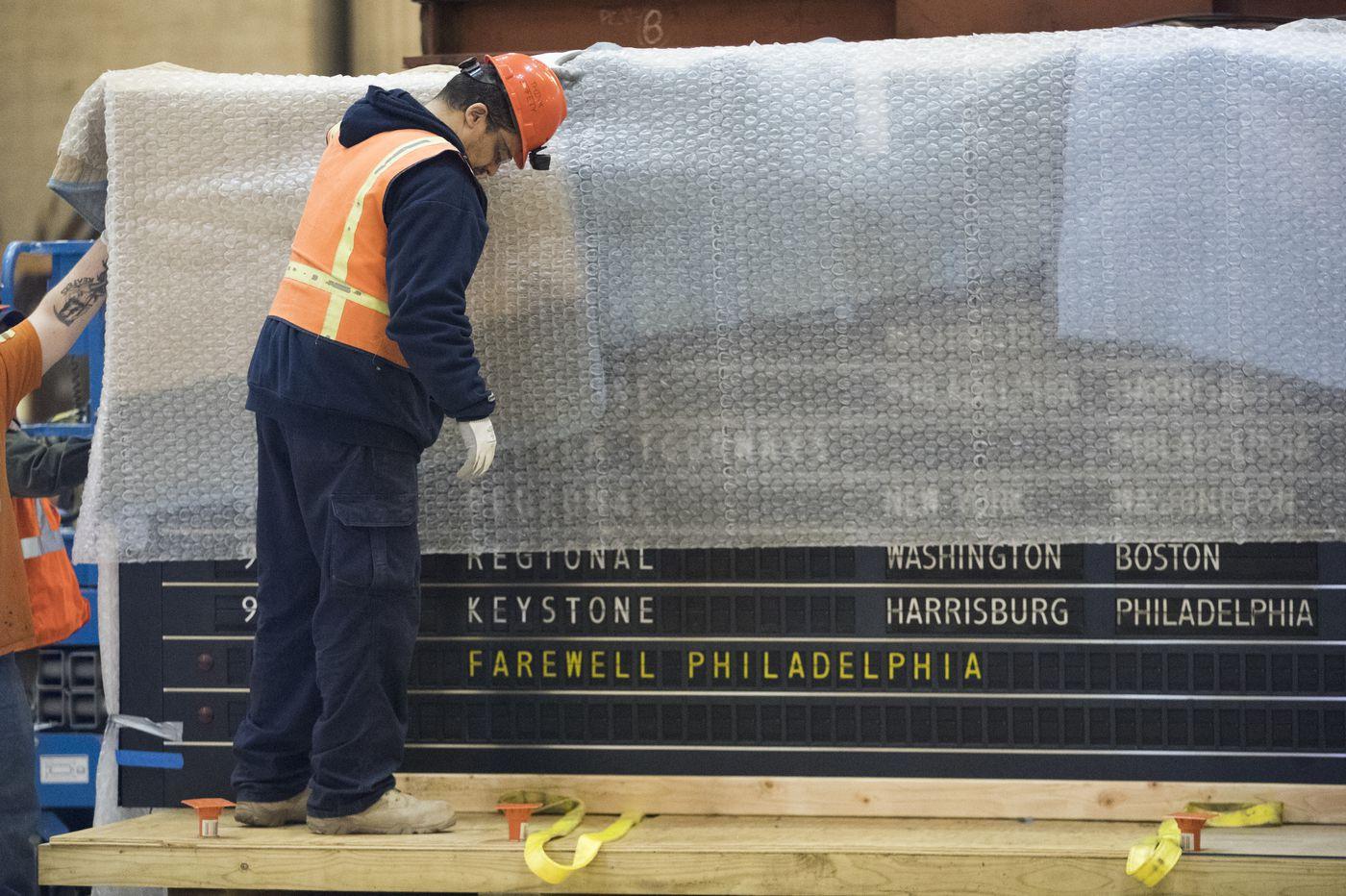 Philadelphia says goodbye to its iconic 30th Street Station