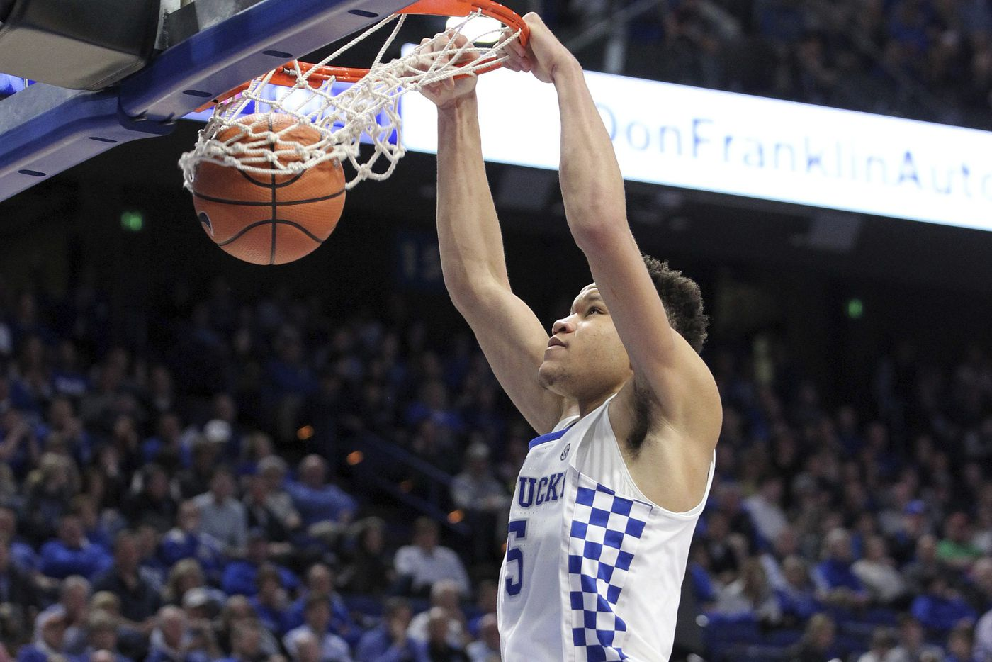 Kentucky freshman Kevin Knox expected to work out for Sixers