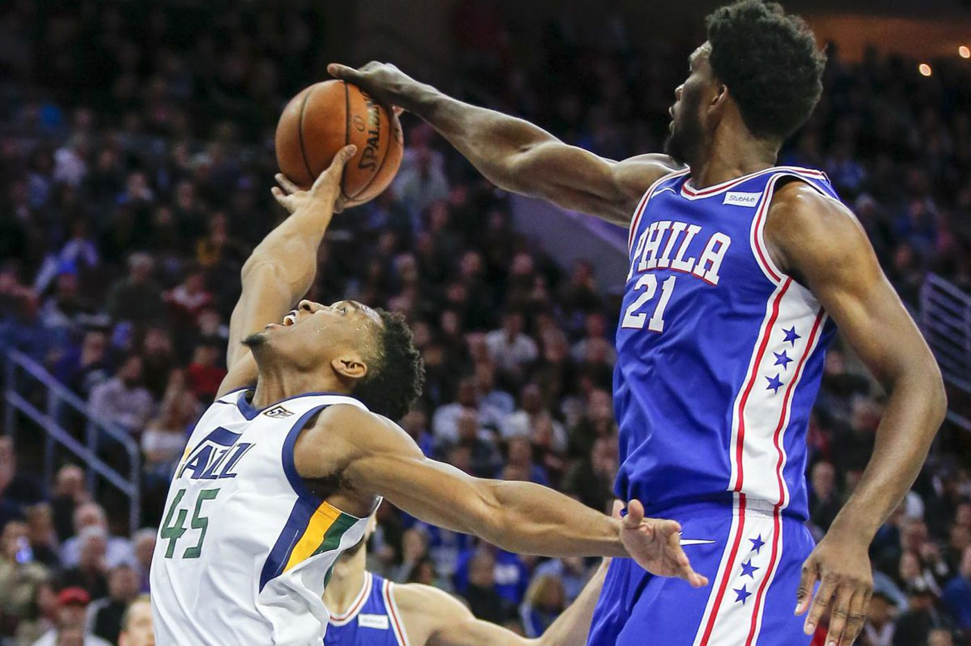 Sixers' Joel Embiid: I think I'm the best defensive player in the league right now