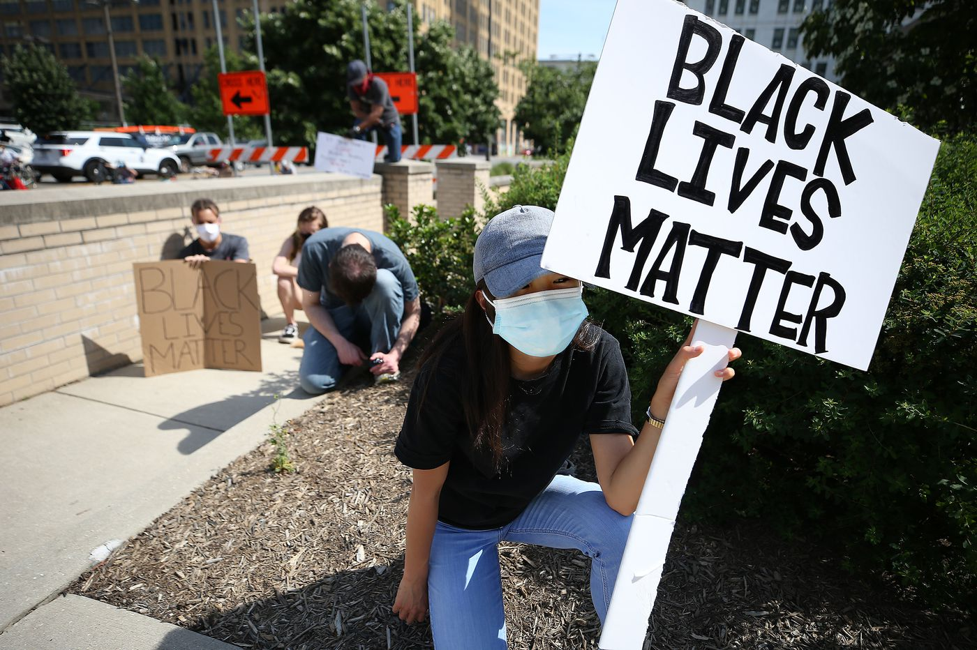 Hite: 'No justice, no peace,' as Philly educators march against racism