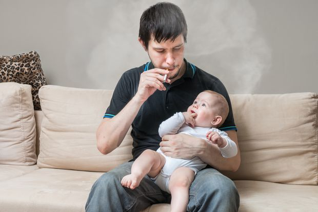Babies, toddlers at greater risk from second-hand smoke than previously thought, Penn State study finds
