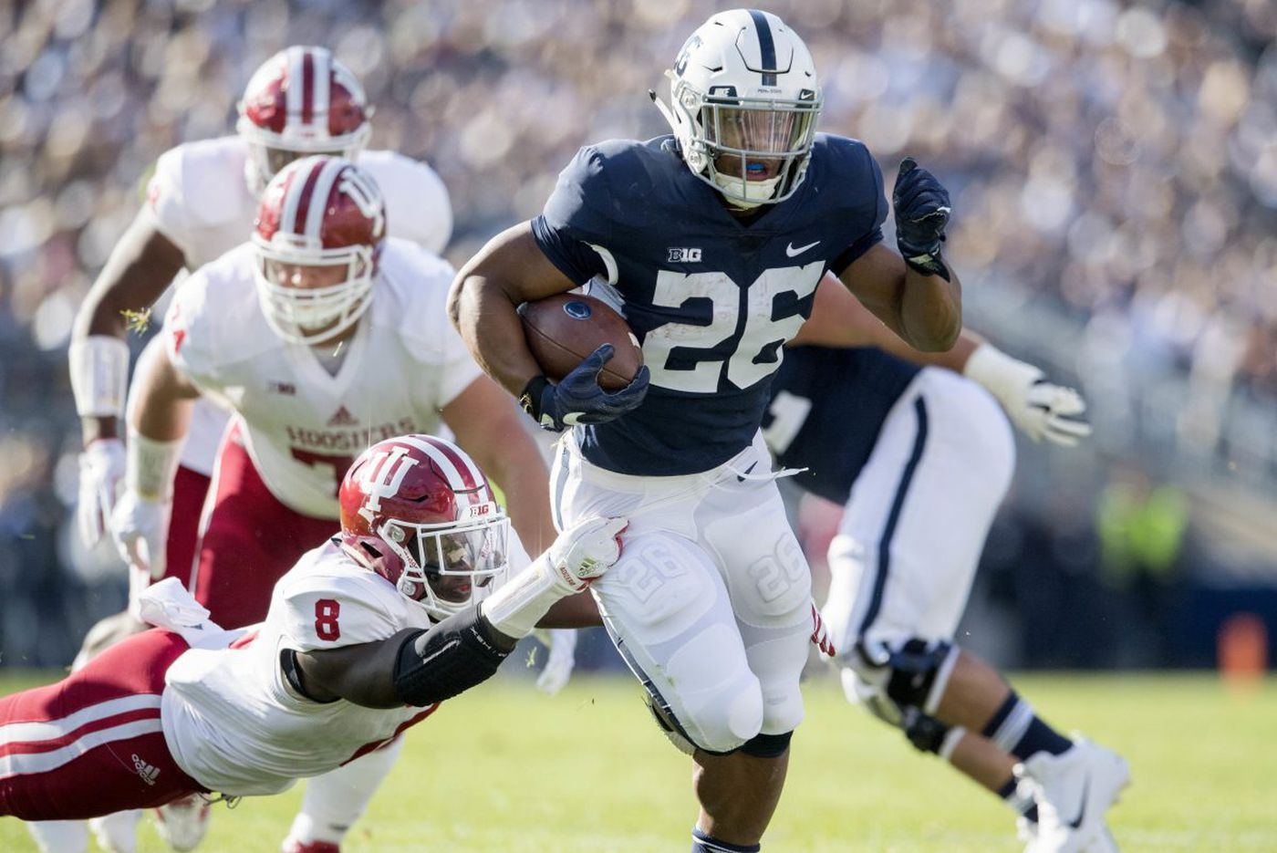 Stopping Saquon Barkley tops Michigan's to-do list | Big Ten notes