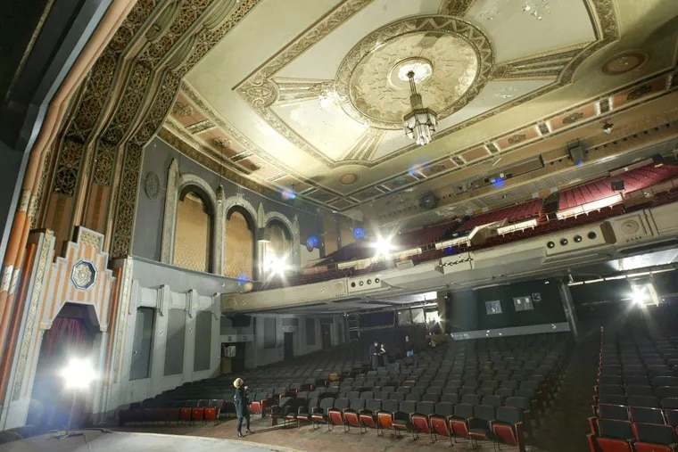 The interior auditorium space of the Boyd Theatre in Center City, which underwent demolition starting in 2015 after a developer was able to qualify for a financial hardship, allowing for most of it to be razed.