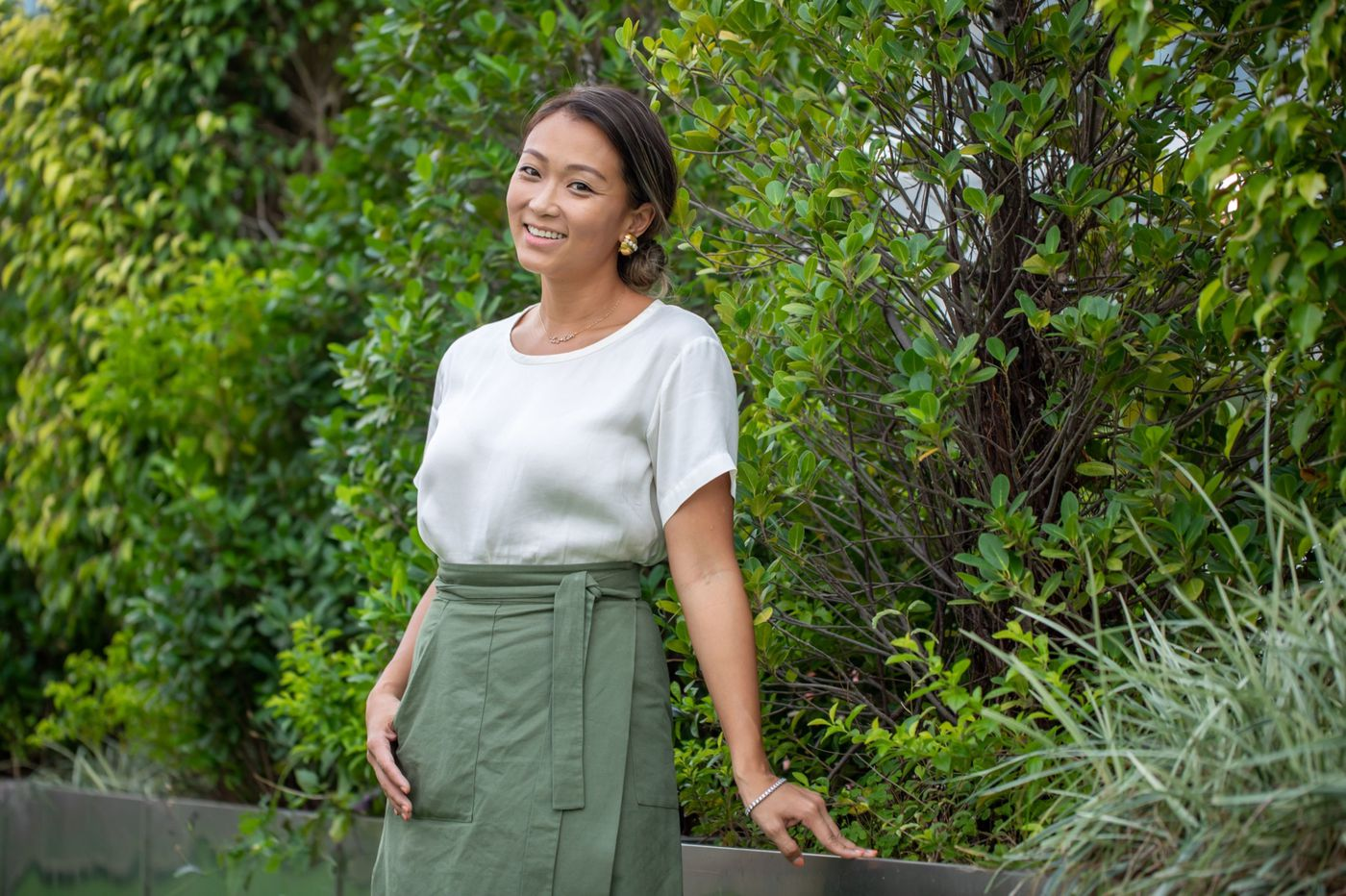 Fast-fashion heiress asks shoppers to buy less in green push