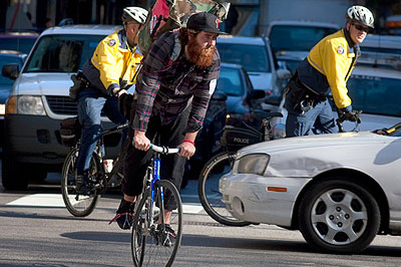 A bicycle blitz in Center City