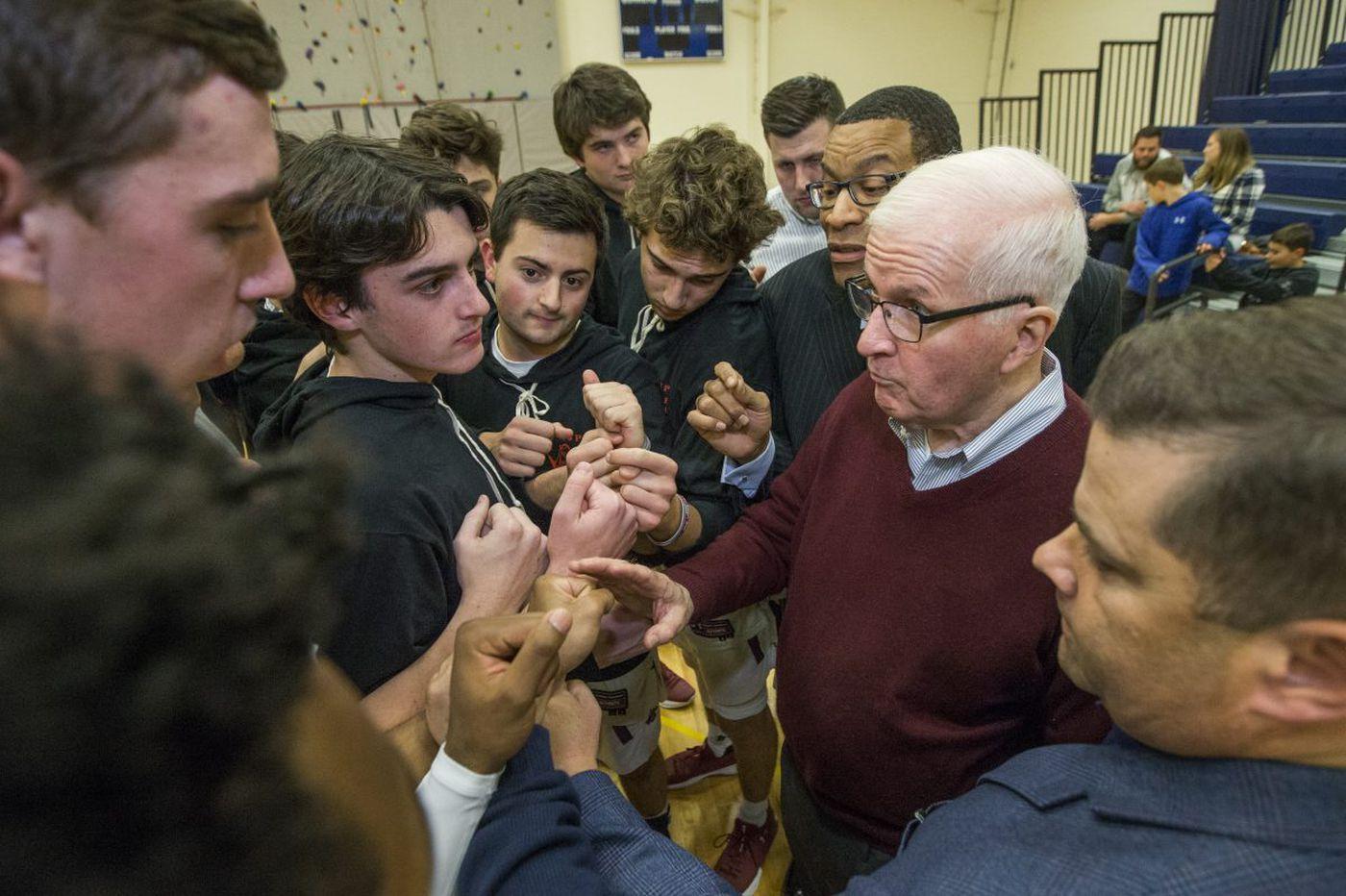 Sunday's Pa. roundup: St. Joseph's Prep's Speedy Morris inches closer to 1,000 career wins
