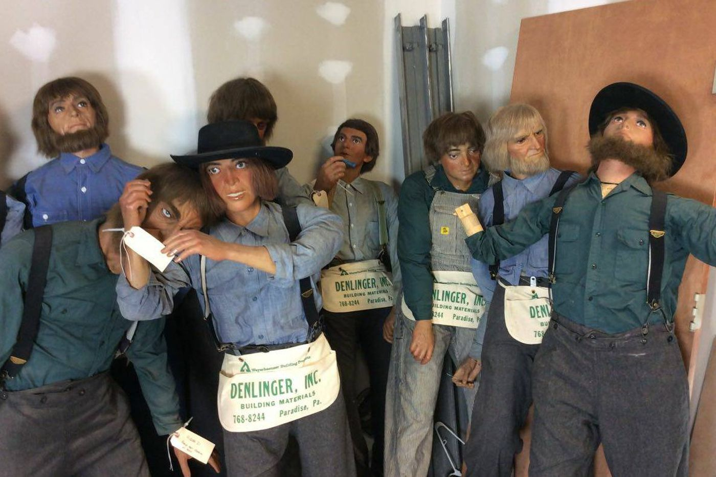 For sale: 40 life-size Amish figures from Lancaster County