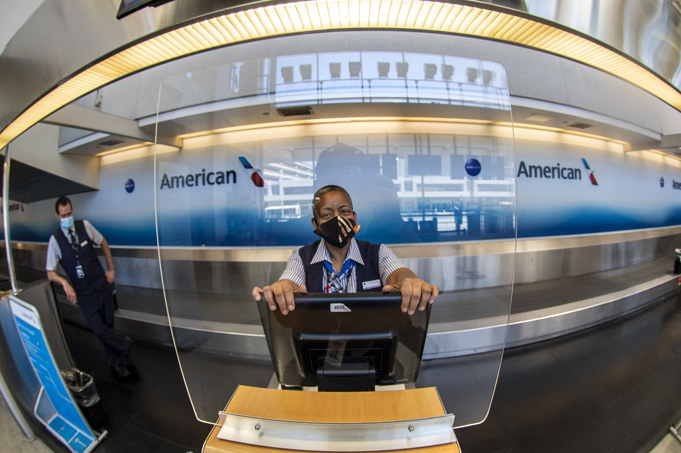 How Philadelphia International Airport is adapting safety measures to the coronavirus