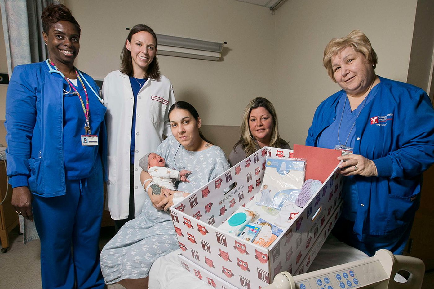 Temple study: Baby boxes help improve infant sleep safety