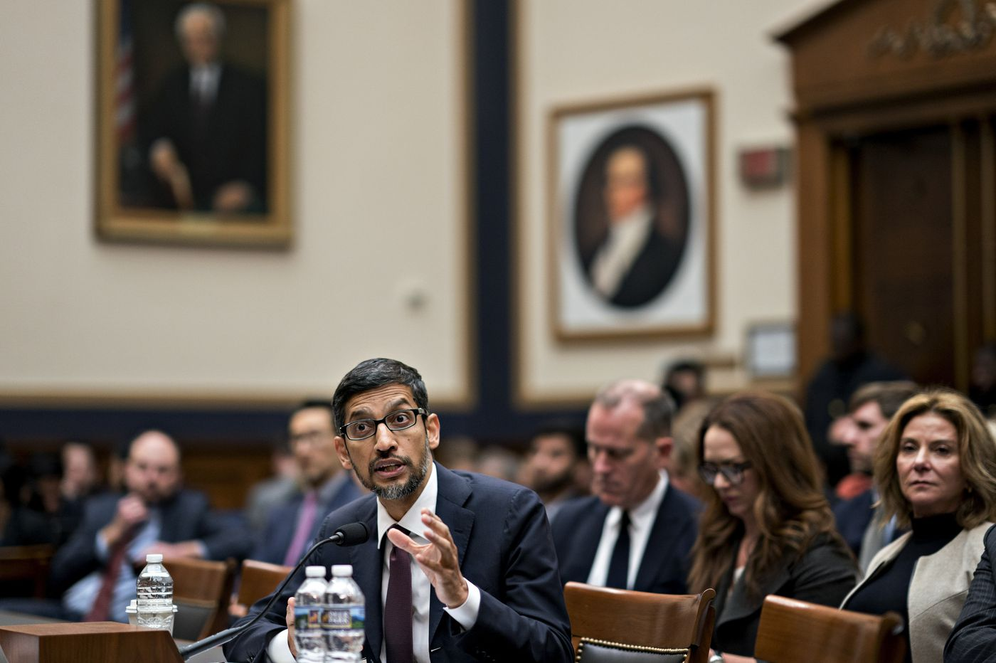 After House grilling, CEO says Google will crack down on hateful content
