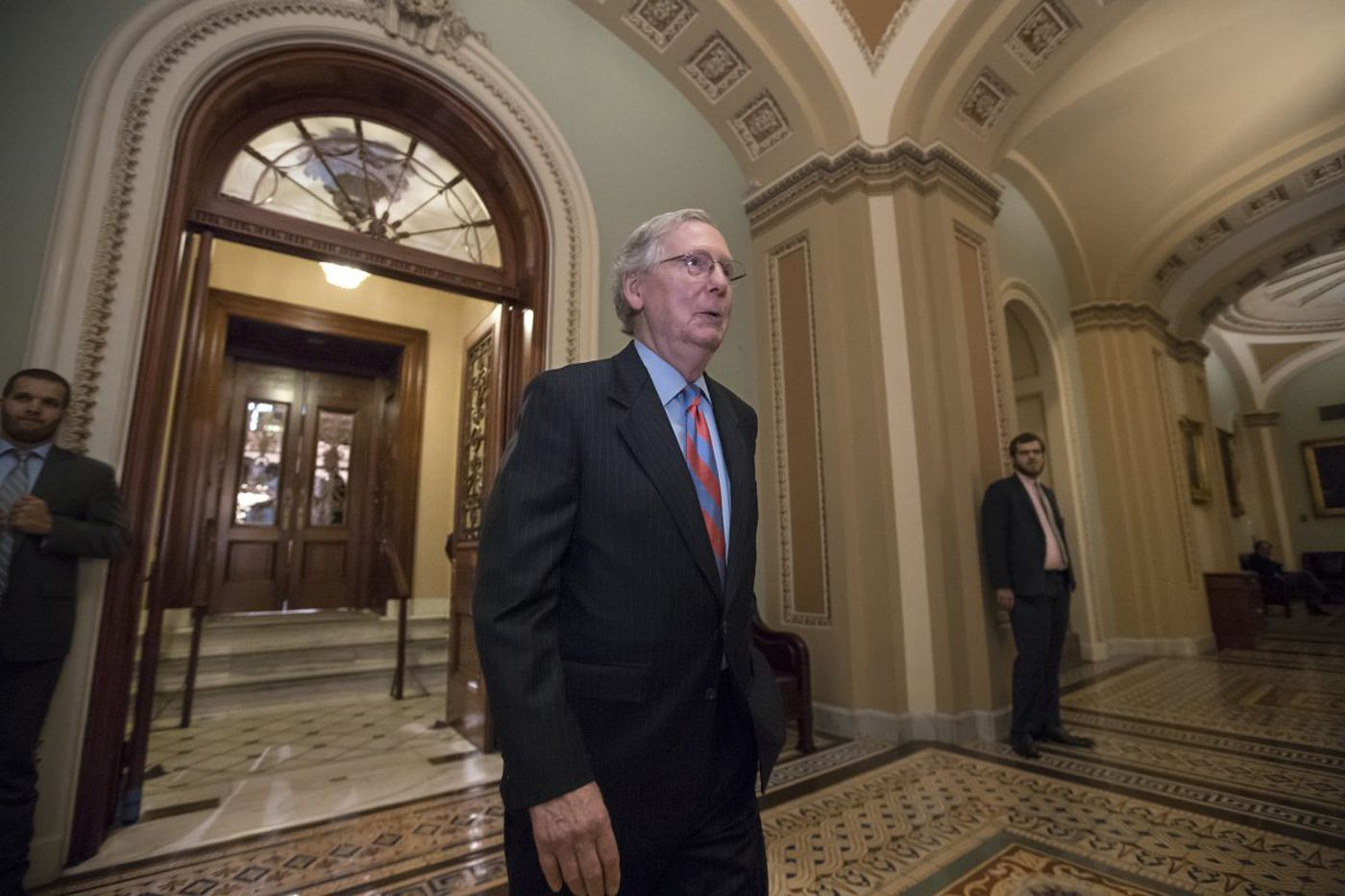 Health repeal wrecked, GOP hopes to deliver on taxes