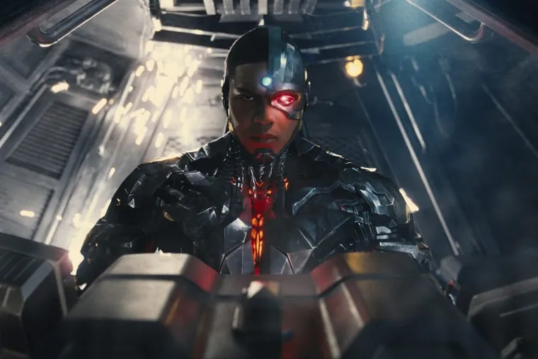 """This image released by Warner Bros. Pictures shows Ray Fisher in a scene from """";Justice League."""""""