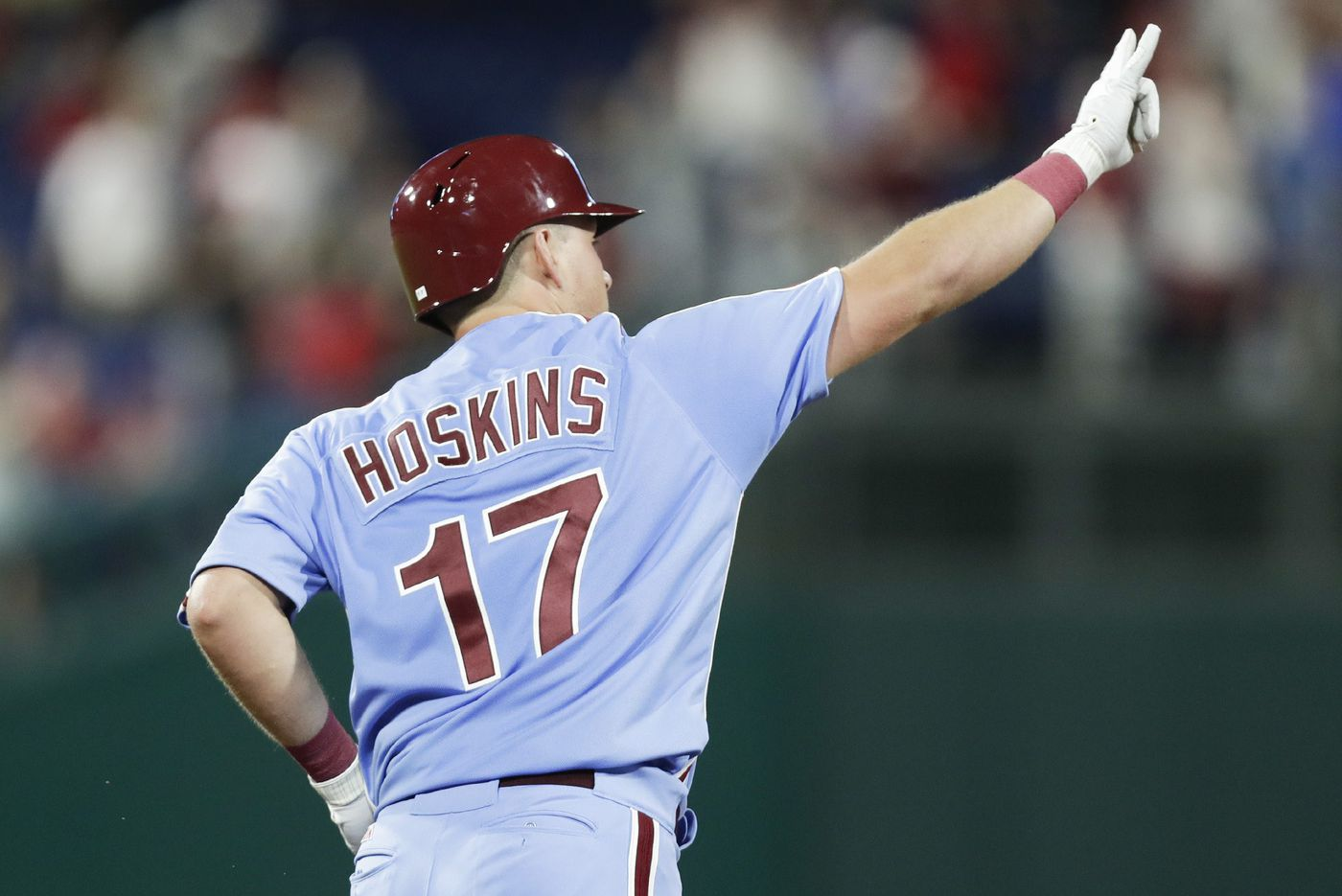Rhys Hoskins challenged the Phils to kick the Marlins when they were down   Extra Innings