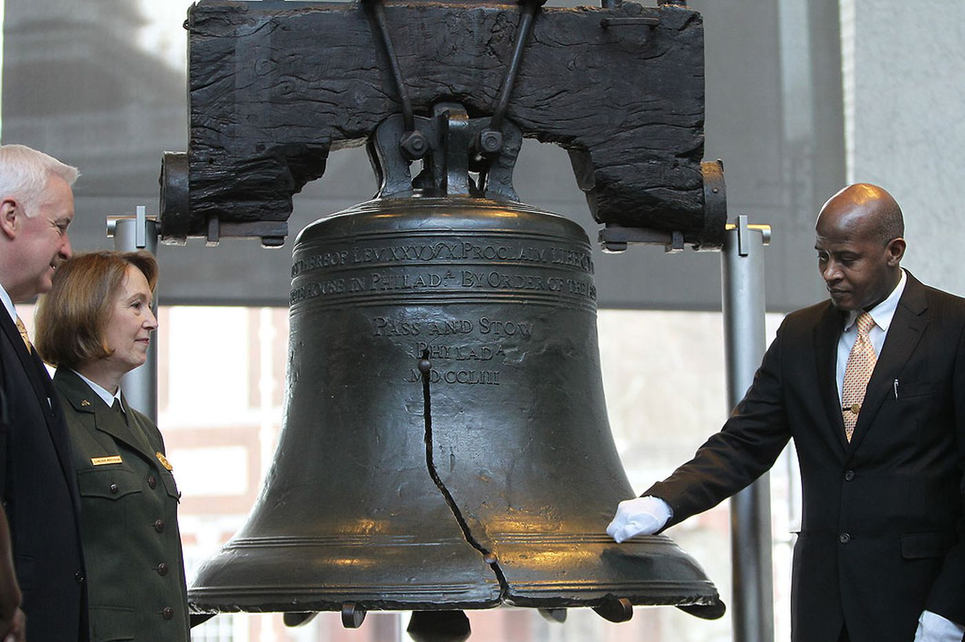 No MLK event at Philly's shuttered Liberty Bell due to shutdown; corporate rescue runs out of time