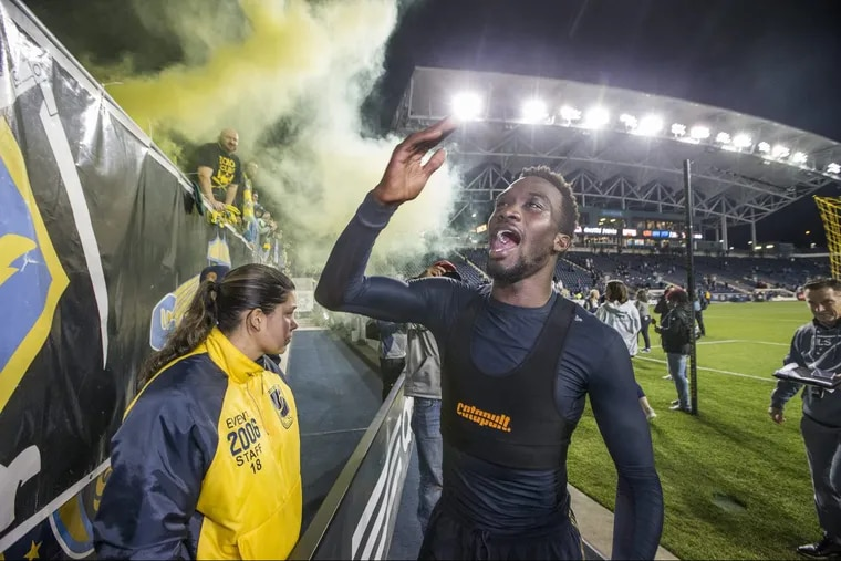 Philadelphia Union striker C.J. Sapong has been called up to the United States men's national soccer team for the first time since 2012.