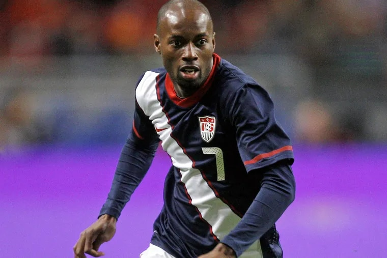 DaMarcus Beasley is one of the American soccer players who plays all around the world.