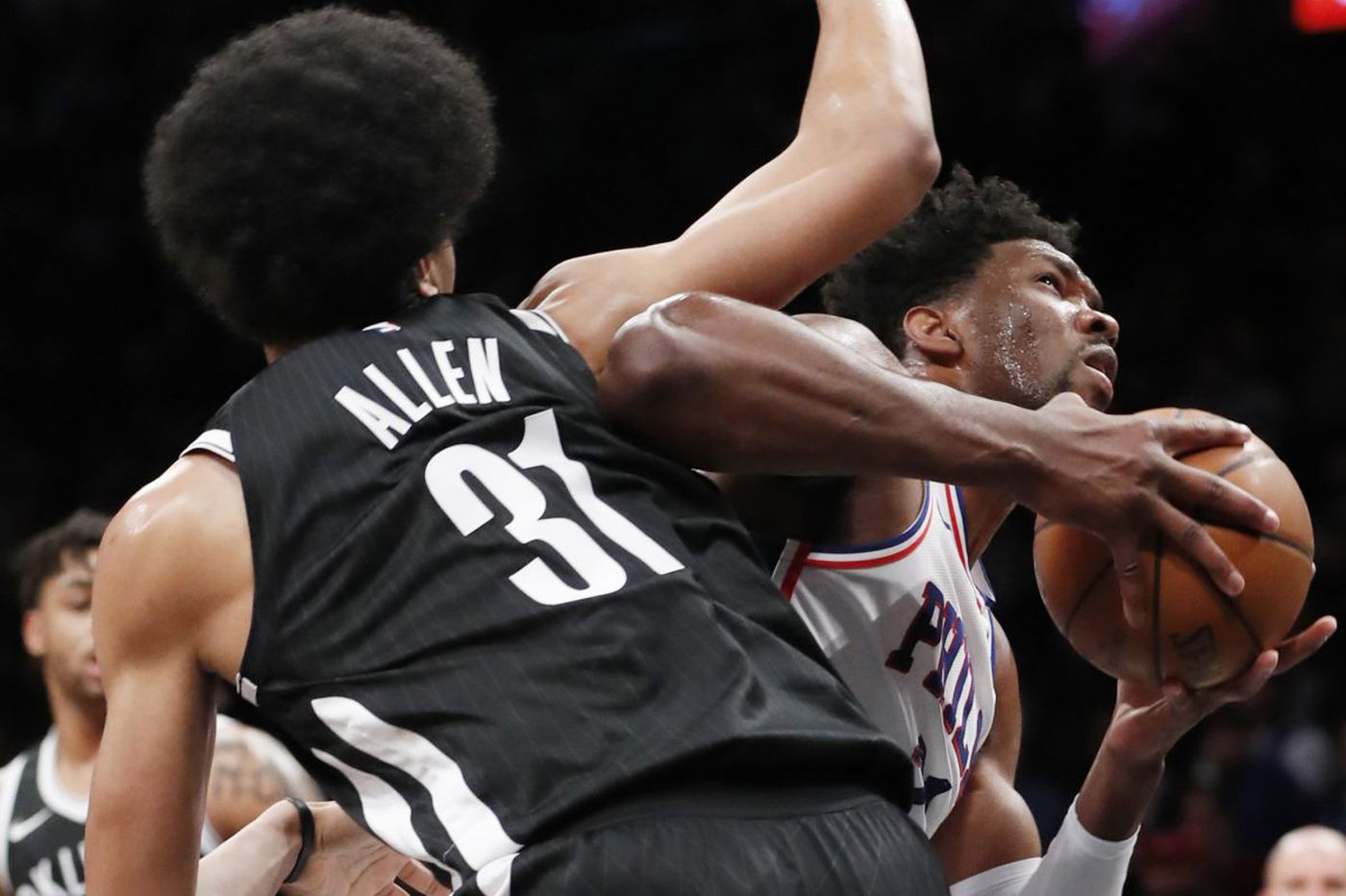 Joel Embiid leads balanced attack as Sixers prevail 120-97 over Brooklyn Nets