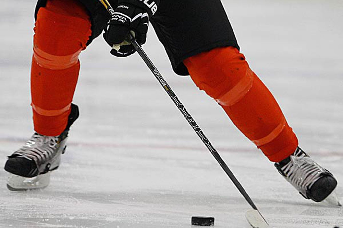 Flyers weigh pros, cons of skate shields