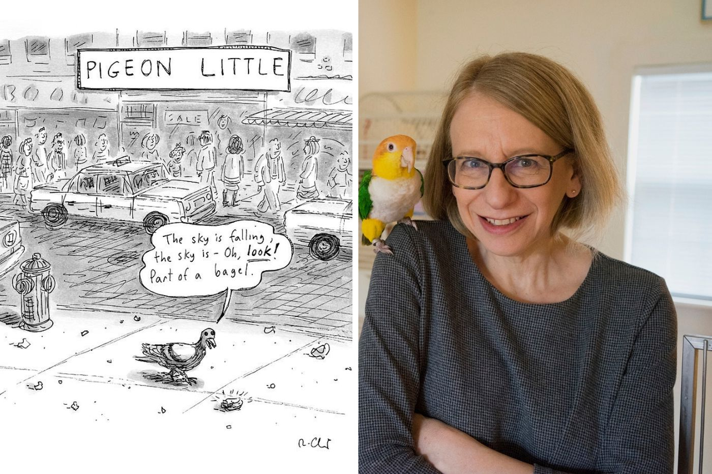 Q&A: New Yorker cartoonist Roz Chast talks toons, Trump and drawing with sensitivity