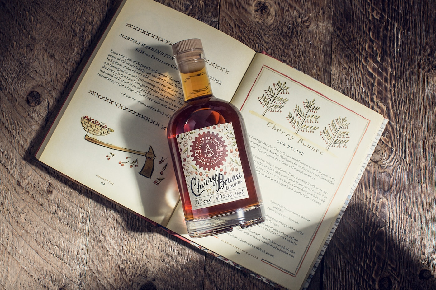Art in the Age releases whiskey with a cherry bounce, just like Martha Washington used to make