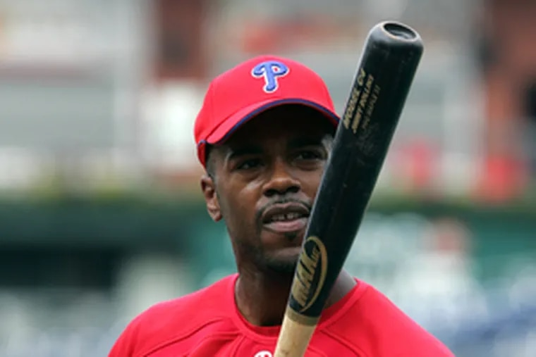 """Phils shortstop Jimmy Rollins was in NYC for taping of HBO show """"Costas Now."""""""