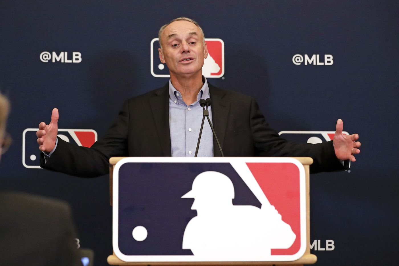 MLB commissioner Rob Manfred: 'We're going to play baseball in 2020'