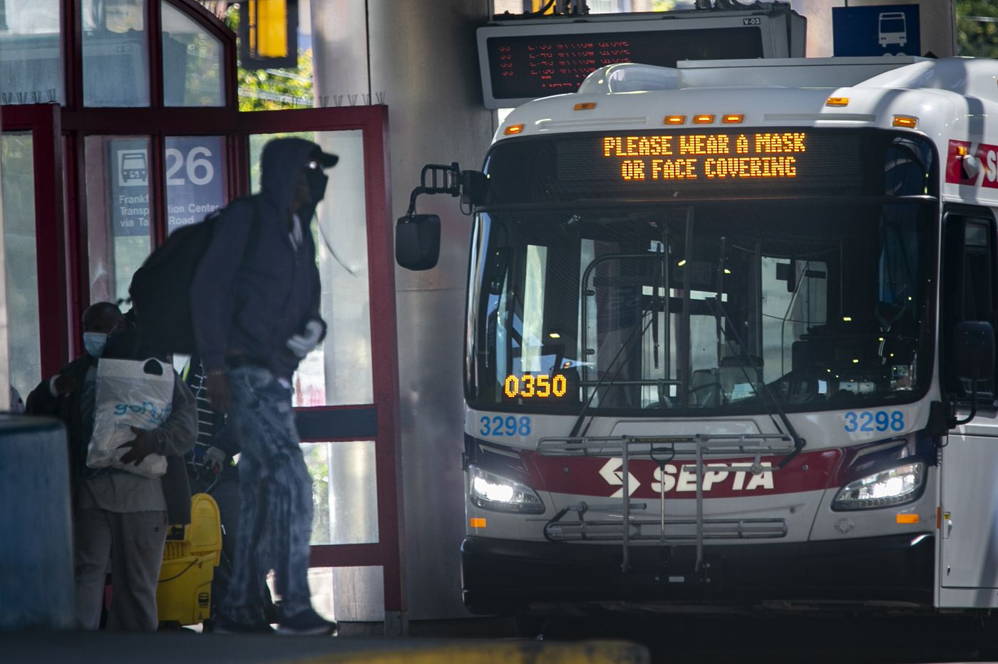 SEPTA is requiring riders to wear face coverings as region begins to reopen
