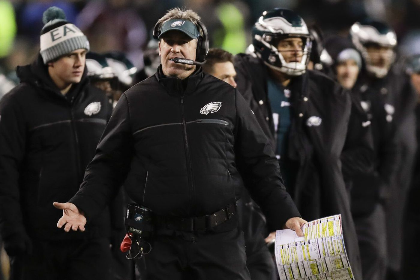Eagles coach Doug Pederson faces challenge of fooling another defense | Bob Ford