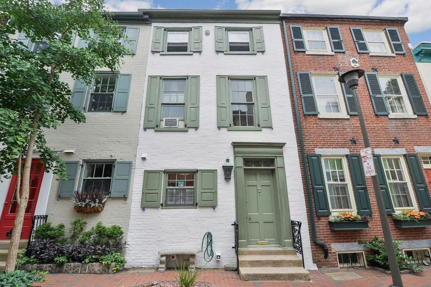 On The Market: Fitler Square home with beautiful brick garden for $825,000