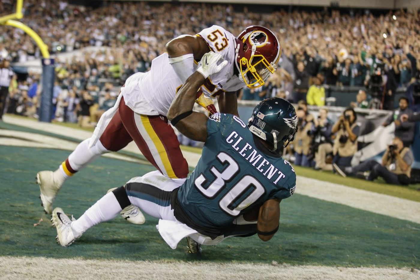 Rookies contribute to Eagles win over Redskins