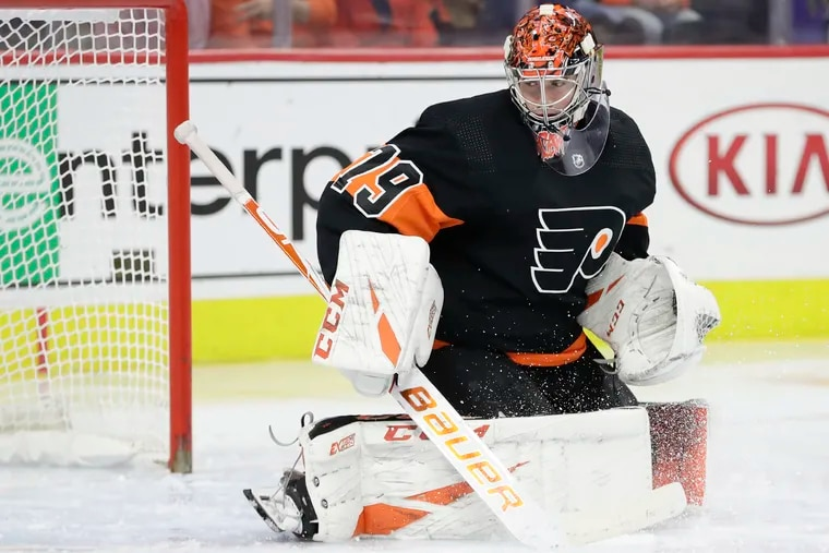 The next step in Carter Hart's development is becoming more consistent on the road. The 21-year-old will start the opener of the Flyers' six-game road trip Saturday in San Jose.