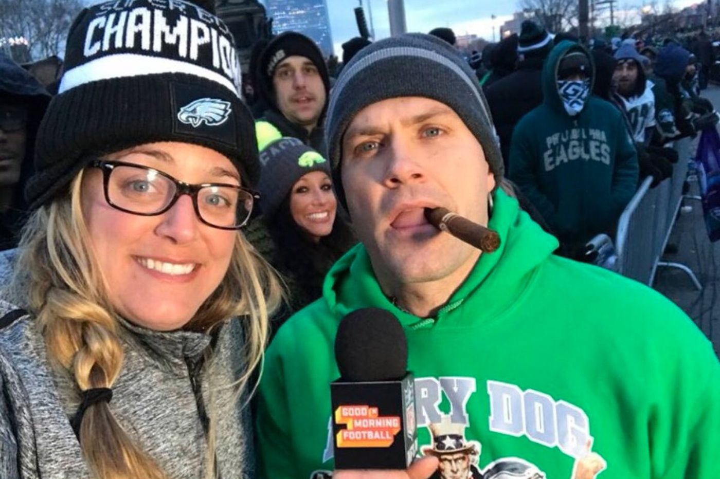 Eagles super fan Kyle Brandt launching a new NFL Network show, and it sounds bonkers
