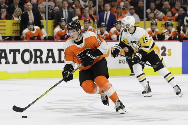 Nolan Patrick sidelined as Flyers open training camp; Joel Farabee replaces Travis Konecny