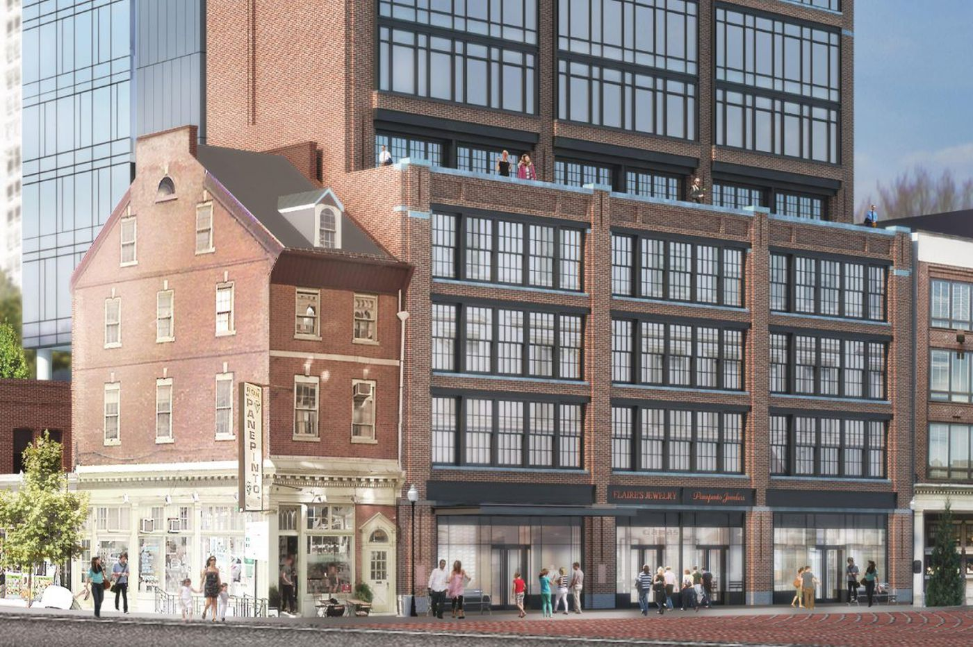 Toll Bros. downsizes Jewelers Row condo tower by six floors