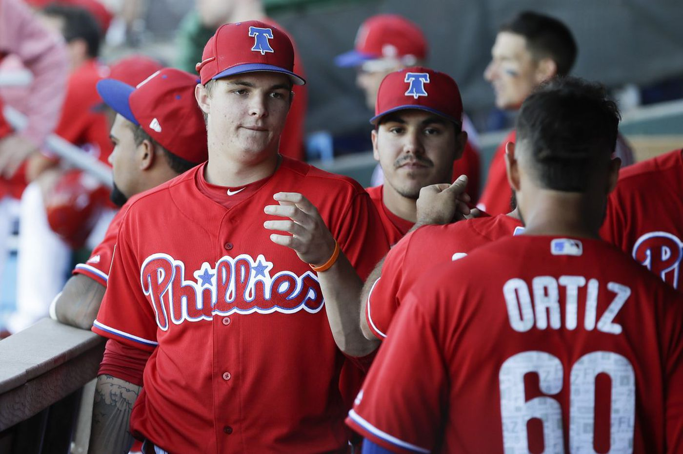 Phillies prospect Mickey Moniak remains confident despite struggles