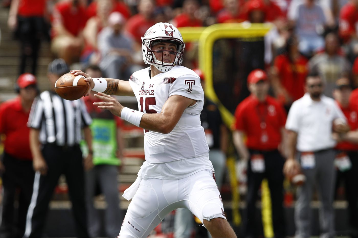 Temple quarterback Anthony Russo savors his first career start in win over Maryland