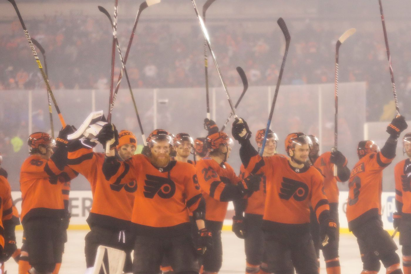 Report: Flyers to play Boston in outdoor game in Lake Tahoe on Feb. 21