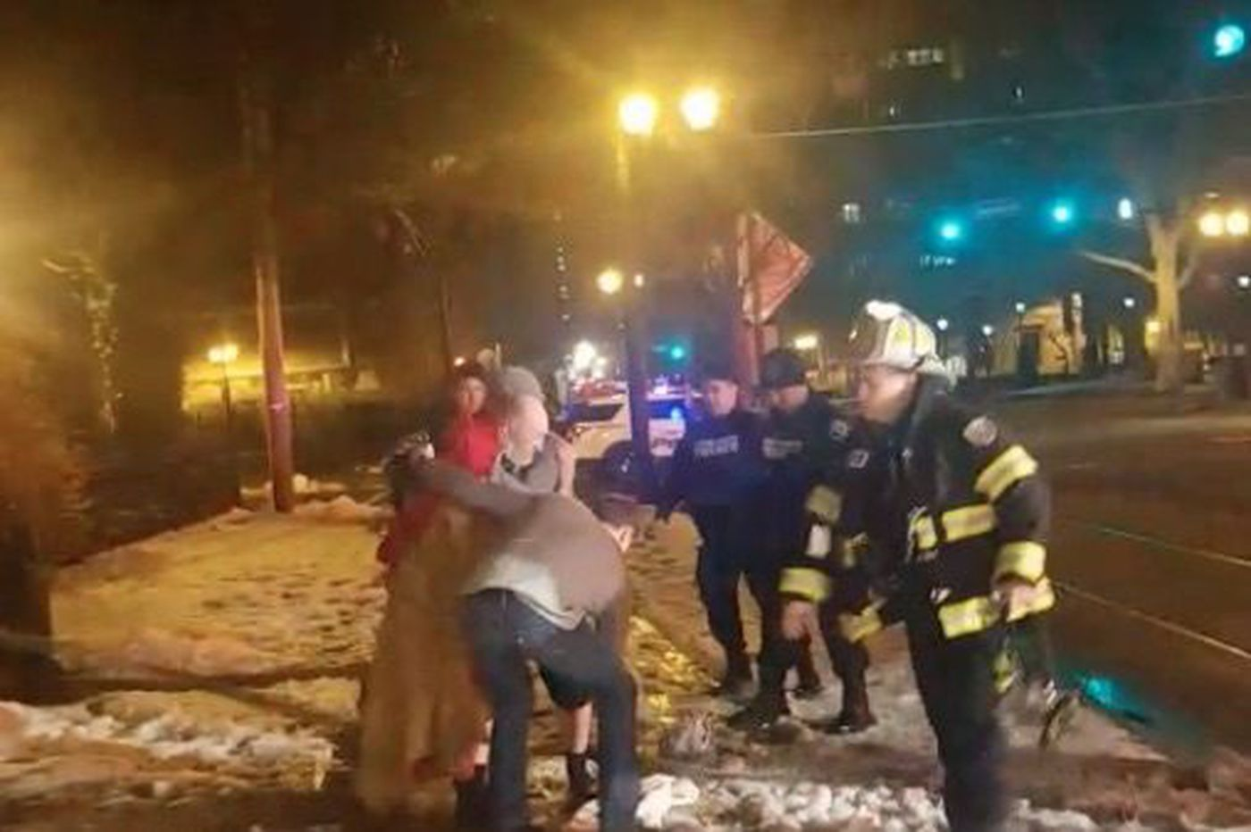 Man, 90, saved in fire by Rutgers-Camden students