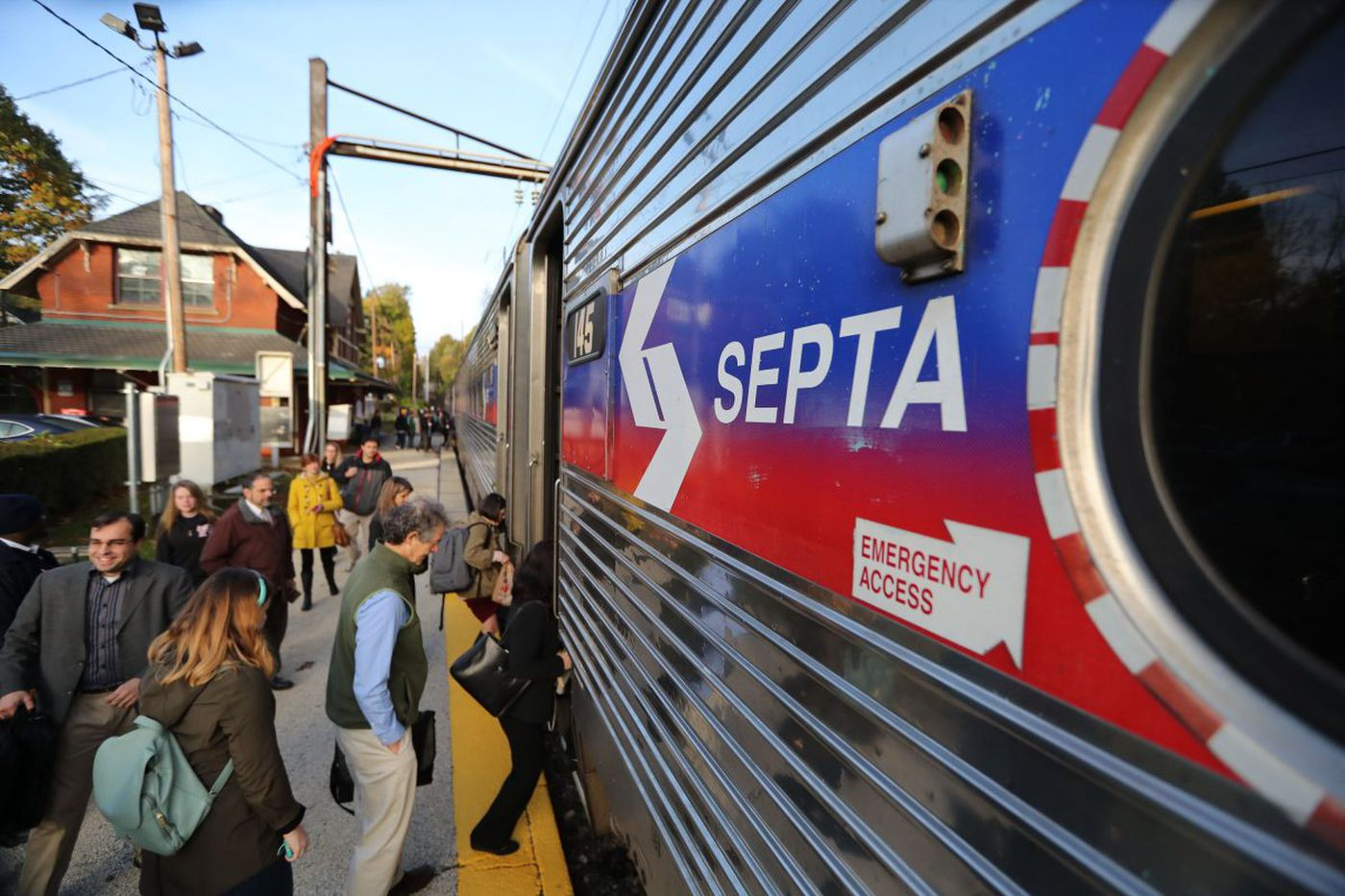 Normal service resumes on SEPTA's West Trenton line
