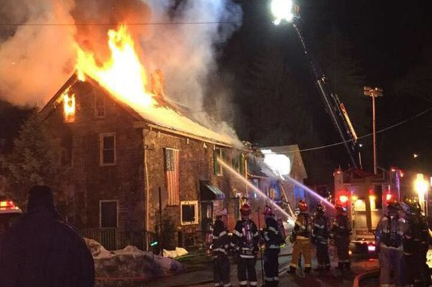 Fire that destroyed historic inn not suspicious
