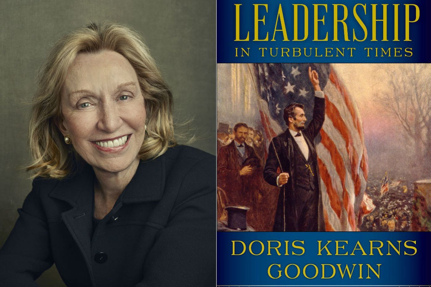 In a turbulent time, Doris Kearns Goodwin talks about 'Leadership in Turbulent Times'