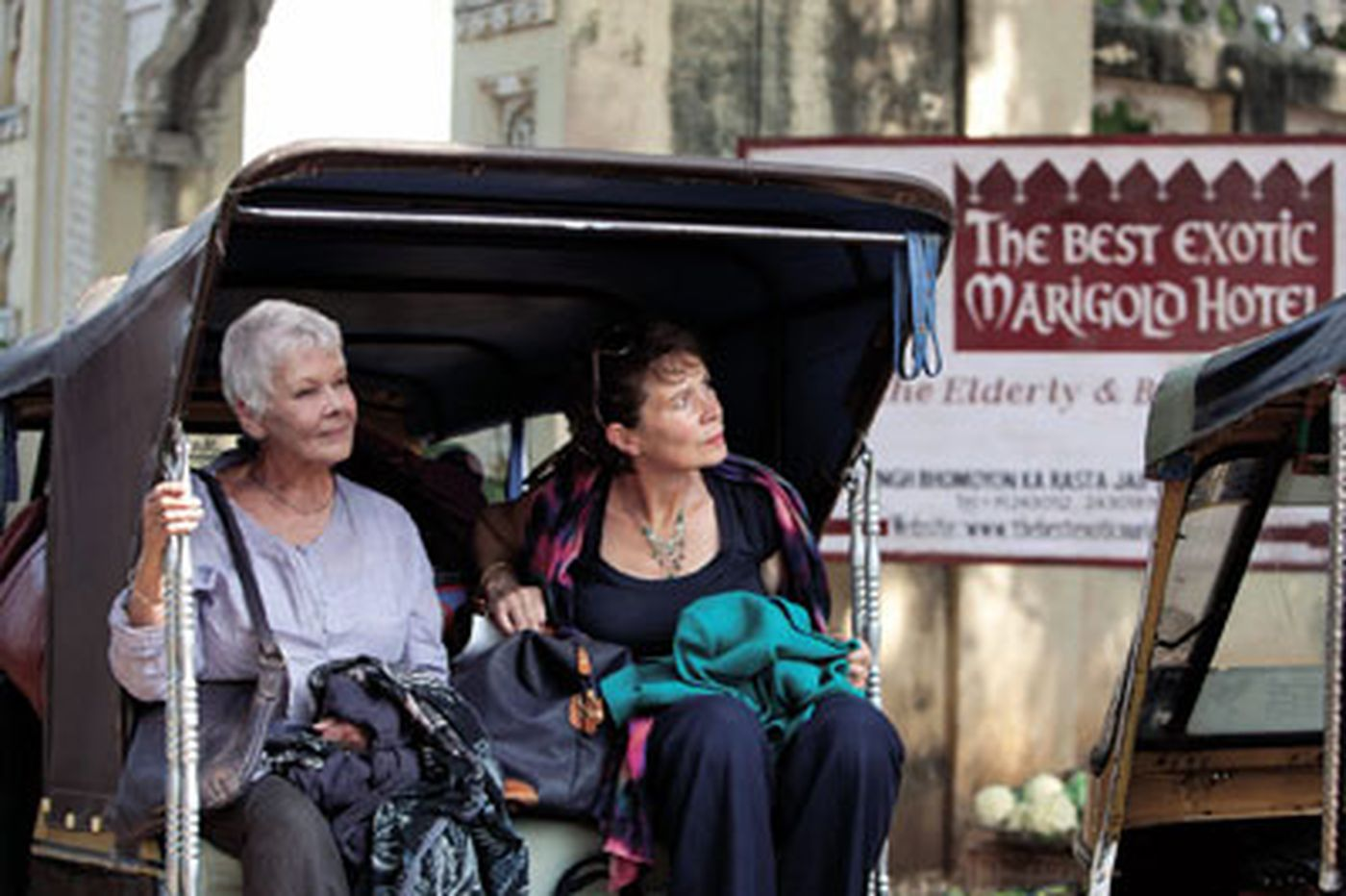 'The Best Exotic Marigold Hotel': Retirees collide