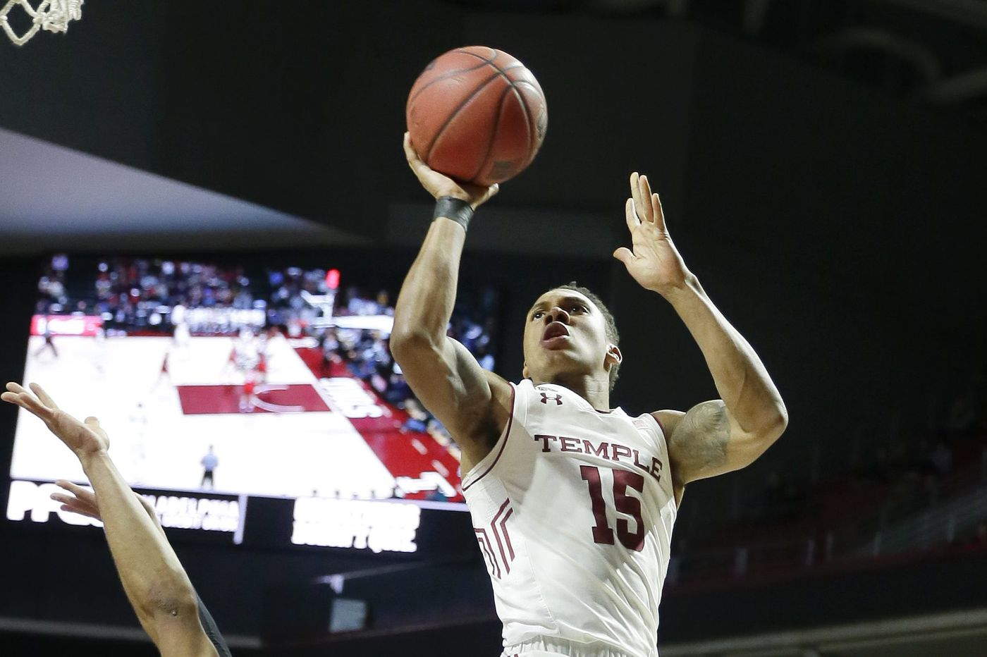 How Mik Kilgore lifted the spirits of Temple guard Nate Pierre-Louis