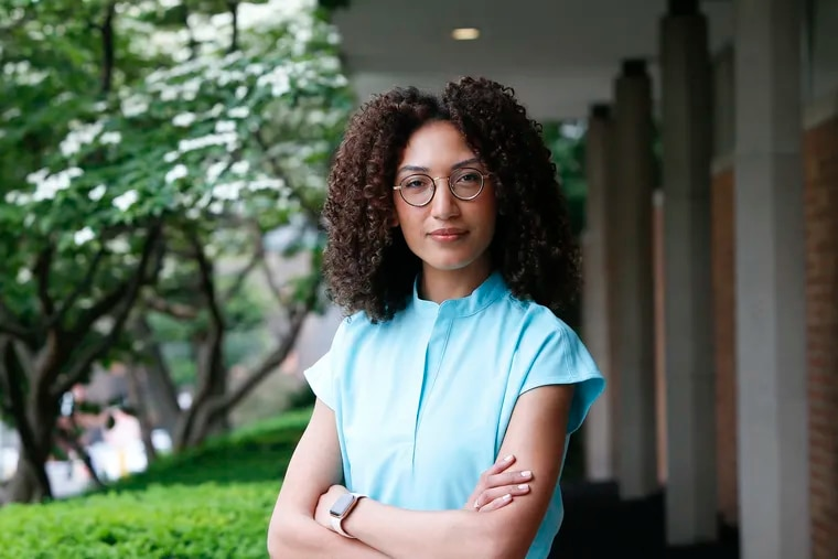 """Stephanie Javier Fagbemi, who recently began her fourth and final year at the Lewis Katz School of Medicine at Temple University, on becoming a doctor: """"I want to care for my patients as if they were my family."""""""
