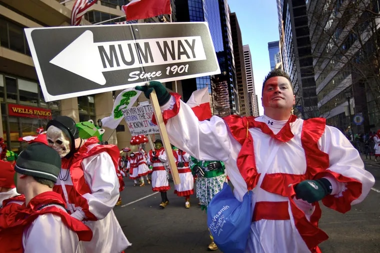 Columnist Stu Bykofsky thinks the Mummers' new Philadelphia Division is a well-intentioned gimmick.