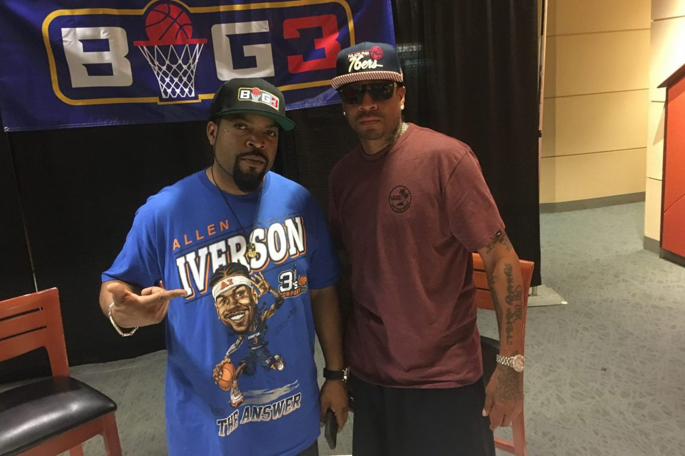 Allen Iverson at Wells Fargo to give 'that flashback'